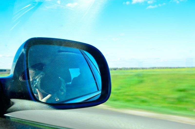 Tri dijela ogledala za auto