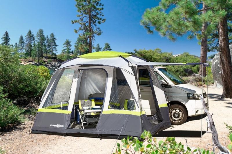 Inovativni šator za kampiranje za kombi vozila